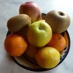 Fruits gorgés de vitamines